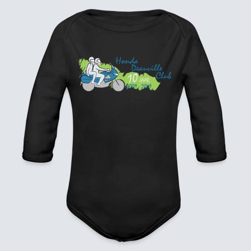 HDC jubileum logo - Baby bio-rompertje met lange mouwen
