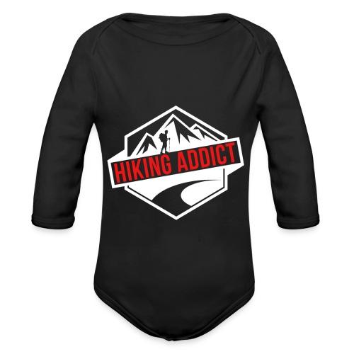 Hiking Lover - Baby Bio-Langarm-Body