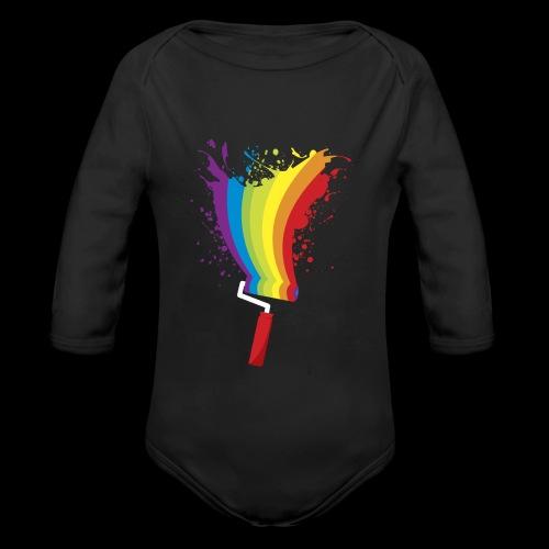 Paint roller Vivid Color - Baby Bio-Langarm-Body