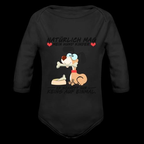 Dog - Baby Bio-Langarm-Body