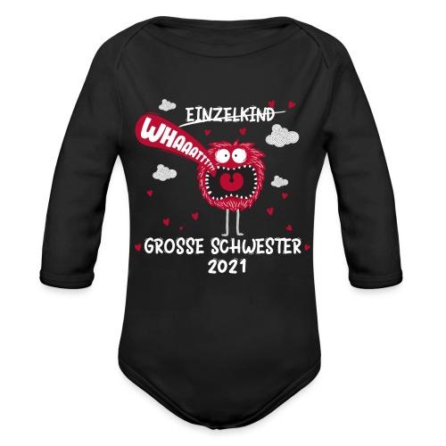Großer Bruder 2021 lustiges Monster - Baby Bio-Langarm-Body