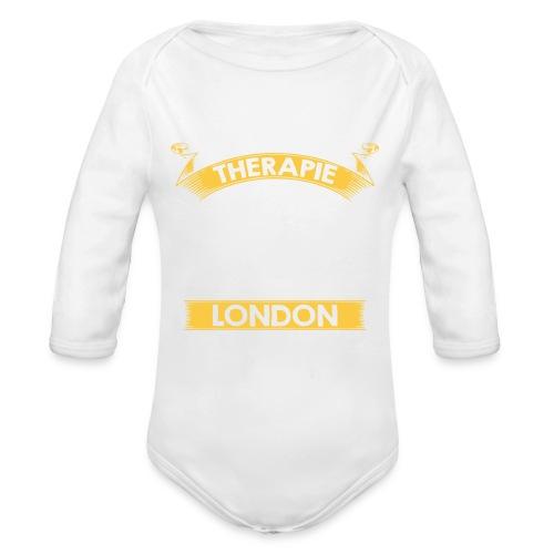 Andere müssen zur Therapie - Ich muss nach London - Baby Bio-Langarm-Body