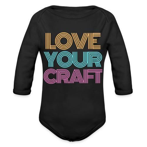 Love your craft - Body Bébé bio manches longues