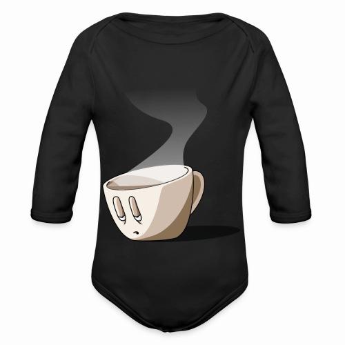 Coffee... - Body Bébé bio manches longues