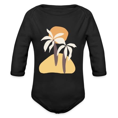 Minimal tropics - Body ecologico per neonato a manica lunga