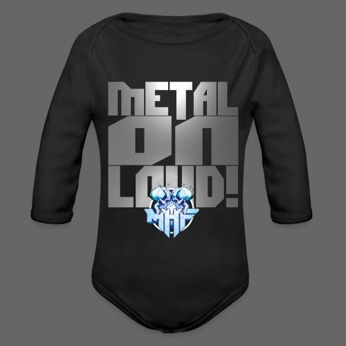 metalonloud large 4k png - Organic Longsleeve Baby Bodysuit