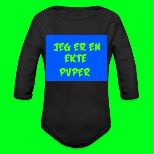 GotPvpGeneseren - Økologisk langermet baby-body