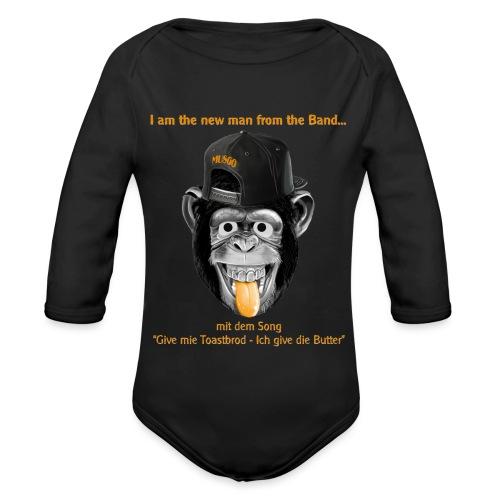 Musgo der Affe - Baby Bio-Langarm-Body