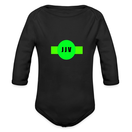 Johan Jr Vlasman - Baby bio-rompertje met lange mouwen