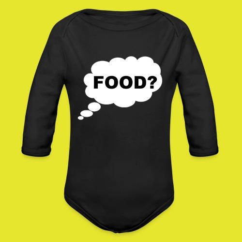 What I am thinking about - Ekologisk långärmad babybody