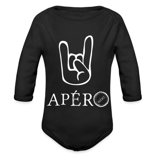 rock and apéro - Body Bébé bio manches longues