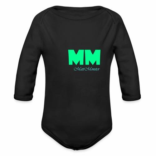 MattMonster Signature logo - Organic Longsleeve Baby Bodysuit