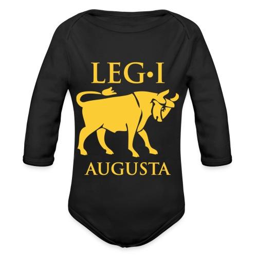 leg_i_augusta - Body ecologico per neonato a manica lunga
