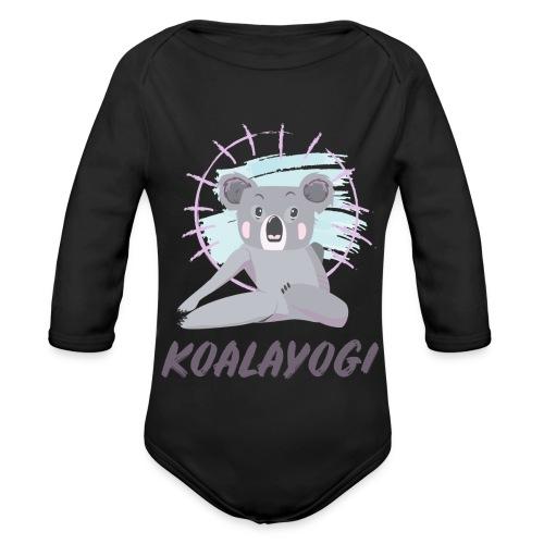Koalayogi - Økologisk langermet baby-body