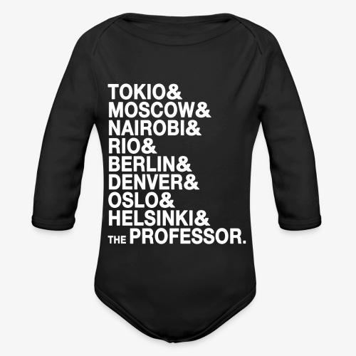 Casa di Carta - Donna Canottiera - Body ecologico per neonato a manica lunga