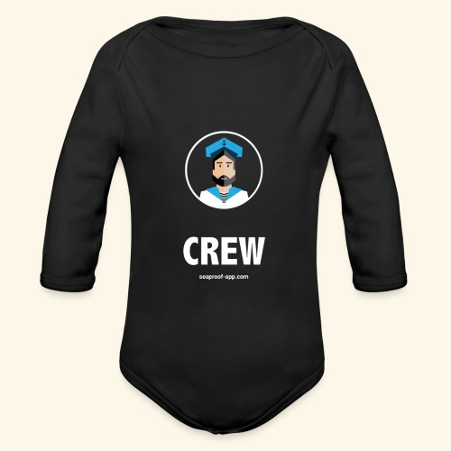 SeaProof Crew - Baby Bio-Langarm-Body