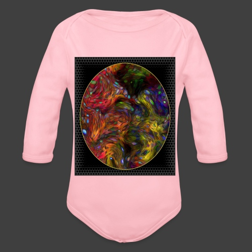 Who will arrive first - Organic Longsleeve Baby Bodysuit
