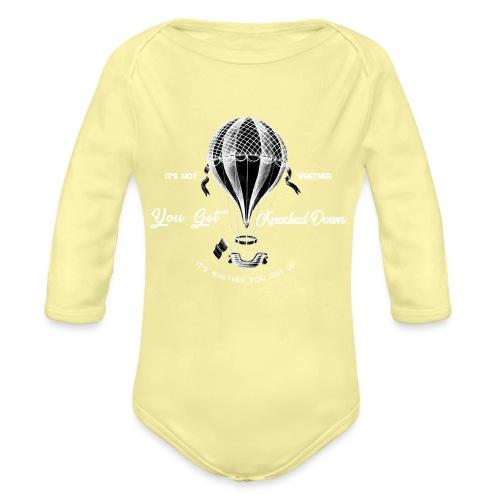 balon1 - Ekologiczne body niemowlęce z długim rękawem