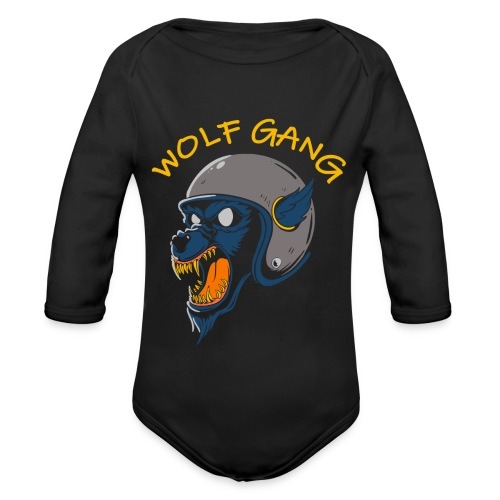 wolf gang willys workshop - Body Bébé bio manches longues