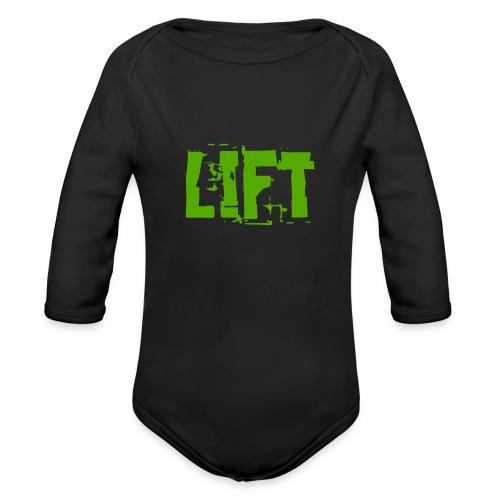 lift - Body ecologico per neonato a manica lunga