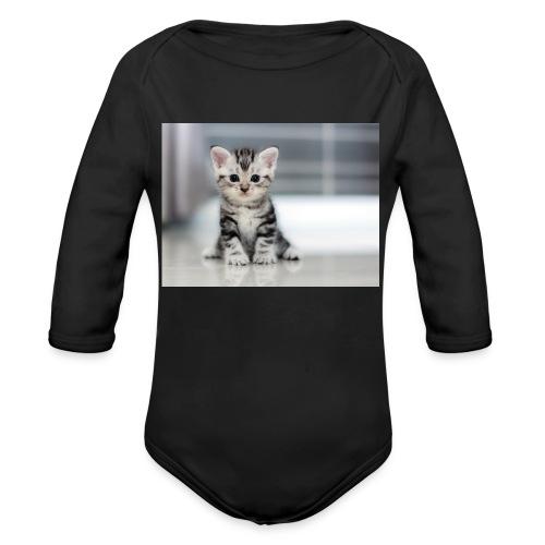 accesoires chat - Body Bébé bio manches longues