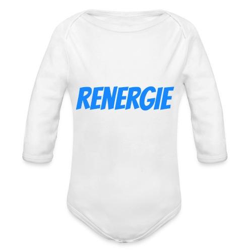 cap renergie - Baby bio-rompertje met lange mouwen