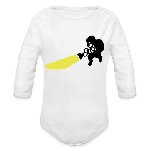 Dieb - Baby Bio-Langarm-Body