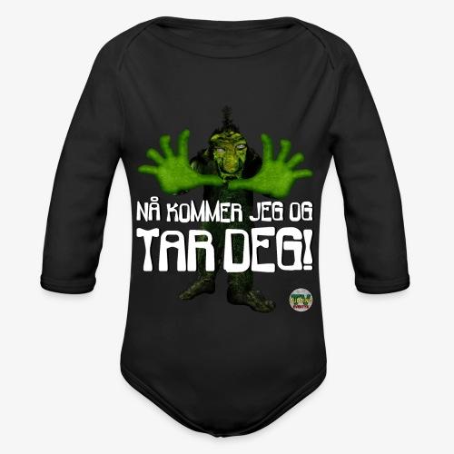 Troll - Økologisk langermet baby-body