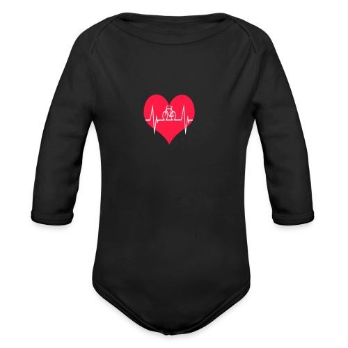 I love my Bike - Organic Longsleeve Baby Bodysuit