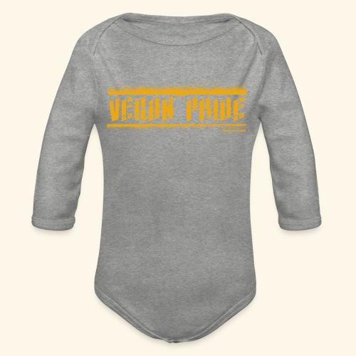 Vegan Pride - Organic Longsleeve Baby Bodysuit