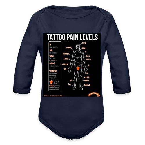 tatoo - Body Bébé bio manches longues