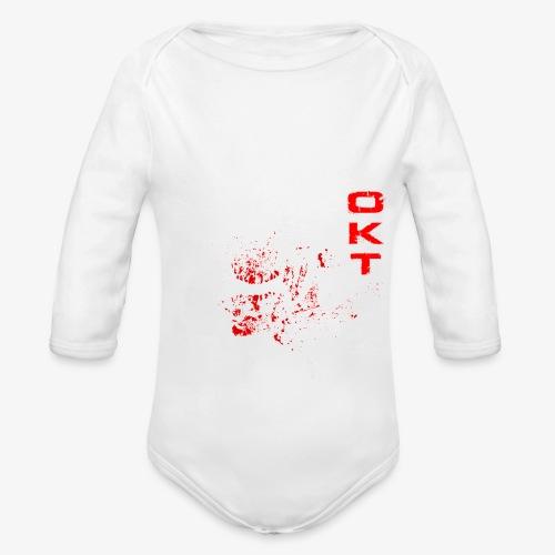 Outkasts Scum OKT Front - Organic Longsleeve Baby Bodysuit