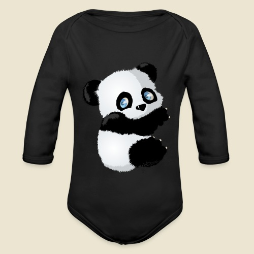 Bébé Panda - Body Bébé bio manches longues