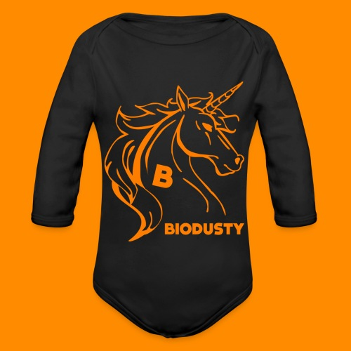 BIODUSTY UNICORN VROUWENSHIRT - Baby bio-rompertje met lange mouwen