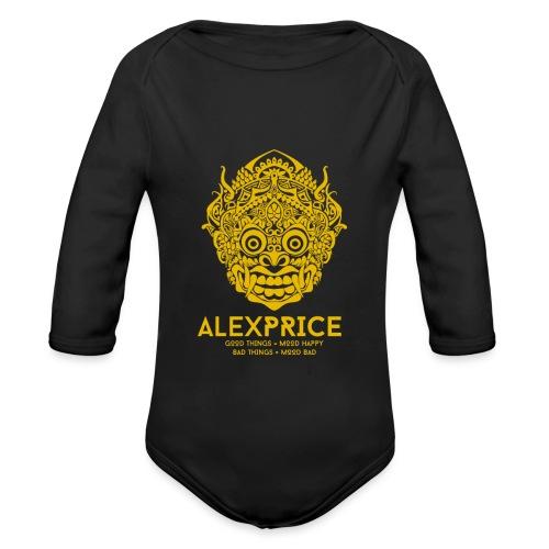Alex Price - Body ecologico per neonato a manica lunga