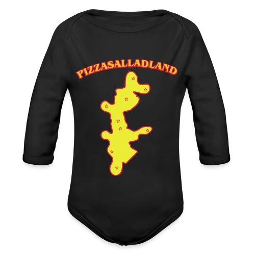 Pizzasalladland - Ekologisk långärmad babybody