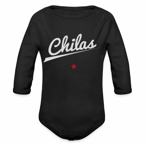 CHILAS Black Edition - Baby Bio-Langarm-Body