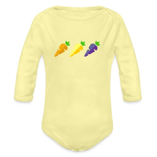 Oplà! - Body ecologico per neonato a manica lunga
