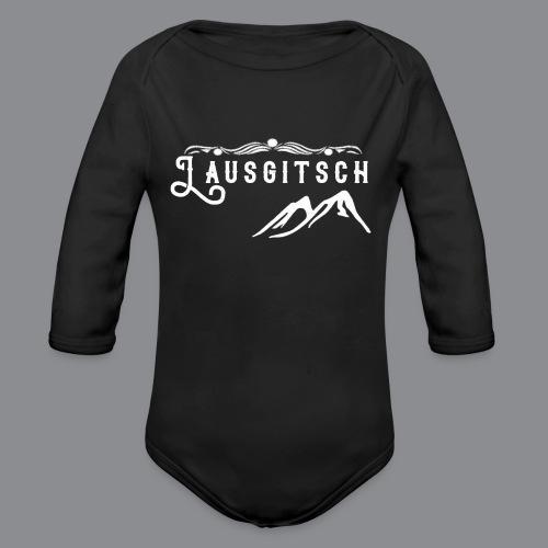Lausgitsch Weiß - Baby Bio-Langarm-Body