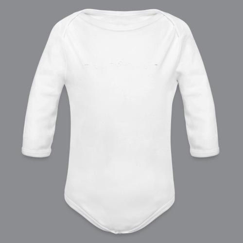 Southtyrol Weiß - Baby Bio-Langarm-Body