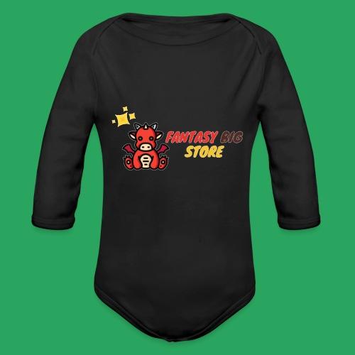 Fantasy big store - Body ecologico per neonato a manica lunga