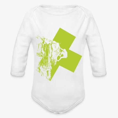 Escalando - Organic Longsleeve Baby Bodysuit