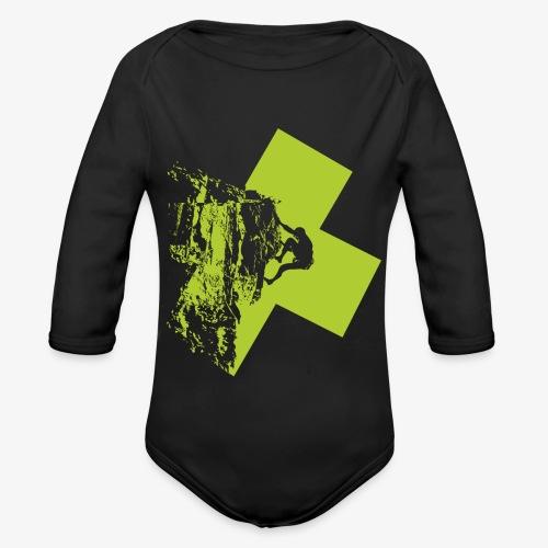 Climbing - Organic Longsleeve Baby Bodysuit