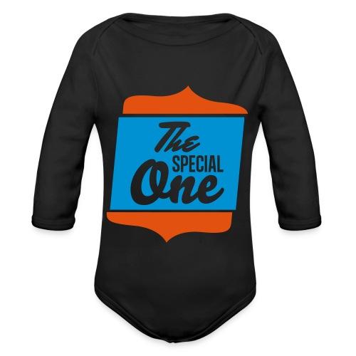 the special one - Ekologiczne body niemowlęce z długim rękawem