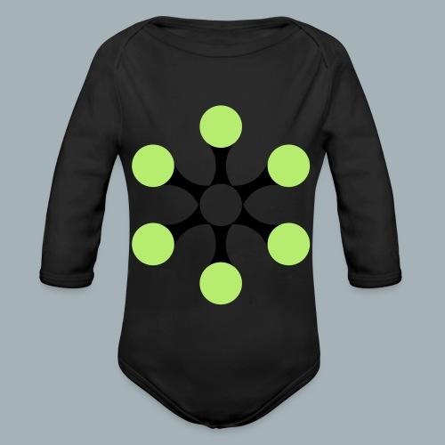 Star Bio T-shirt - Baby bio-rompertje met lange mouwen