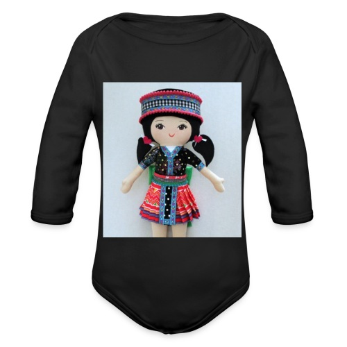 We love Karenin - Organic Longsleeve Baby Bodysuit