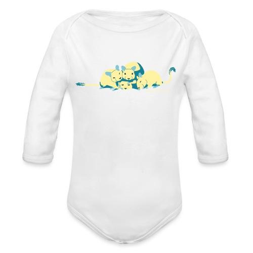 Kuschelhaufen DHS - Baby Bio-Langarm-Body