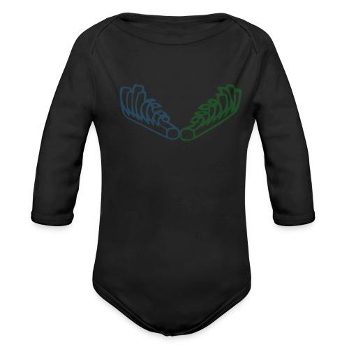 Kiehiset Technicolour - Vauvan pitkähihainen luomu-body