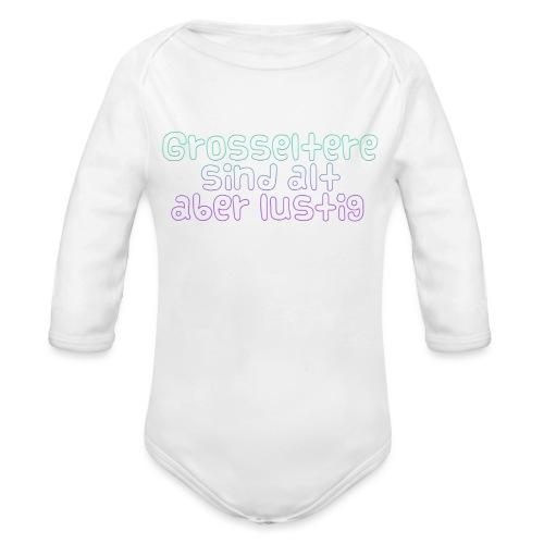 Grosseltern - Baby Bio-Langarm-Body