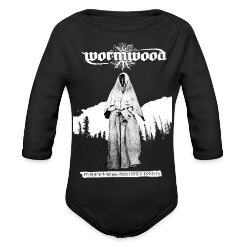 Women's Witch Print - Organic Longsleeve Baby Bodysuit